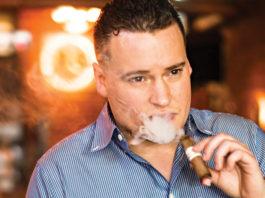 Jarrid Trudeau, Vice President of Sales of Kristoff Cigars
