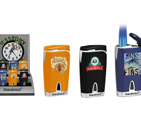 Co-Branded Margaritaville and Landshark Cigarware Released by Lotus Group