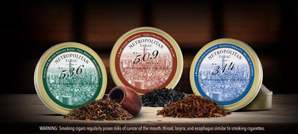 Nat Sherman Metropolitan Pipe Tobacco 2018