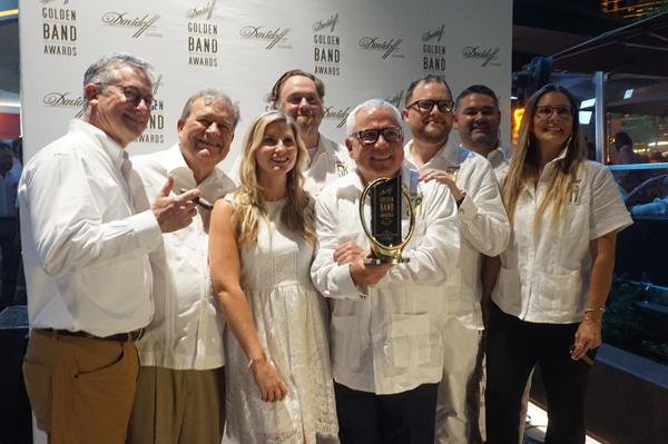 Golden Band Awards 2018 Blend Bar with Davidoff
