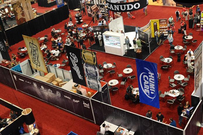 IPCPR Trade Show Floor