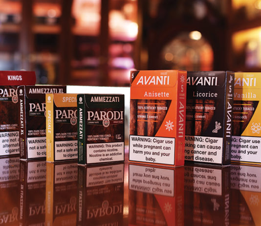 Avanti Cigars Rebranding