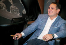 Jason Wood, VP of Sales for Miami Cigar Co.