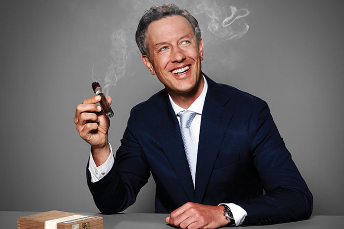 Boris Wintermans, CEO of Royal Agio Cigars