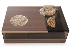 "Davidoff Teams Up with Danish Artist for New ""Elements"" Masterpiece Humidor"