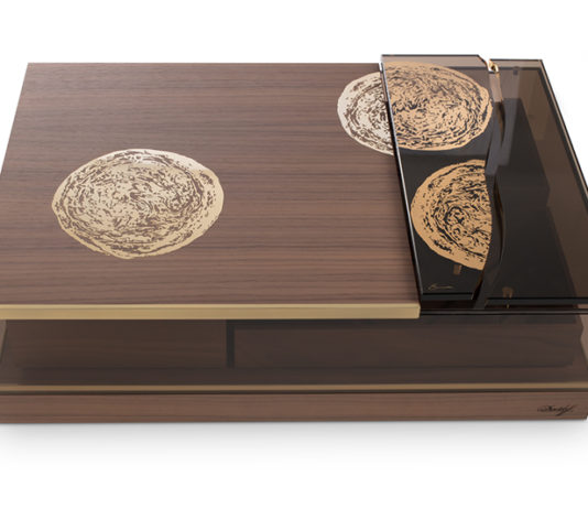 """Davidoff Teams Up with Danish Artist for New """"Elements"""" Masterpiece Humidor"""