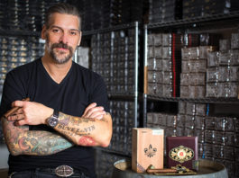 Pete Johnson, founder of Tatuaje Cigars