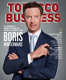 Tobacco Business September/October Boris Wintermans Royal Agio Cigars
