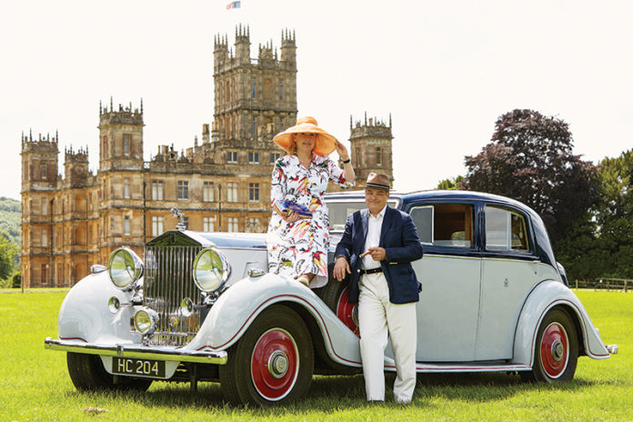 Lord and Lady Carnarvon, Highclere Castle Cigars