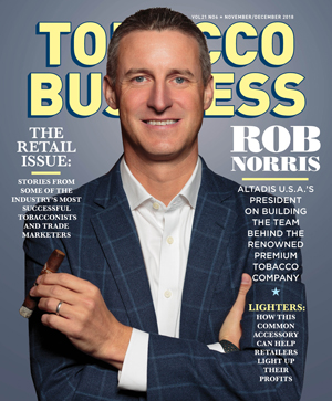 Rob Norris, Altadis USA | Tobacco Business Magazine November/December 2018