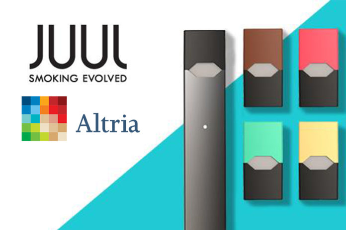Altria Makes $12.8 Billion Minority Investment in JUUL