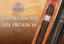 Drew Estate Reveals Liga Privada 10-Year Anniversario and Liga Privada H99 Connecticut Corojo Retailers