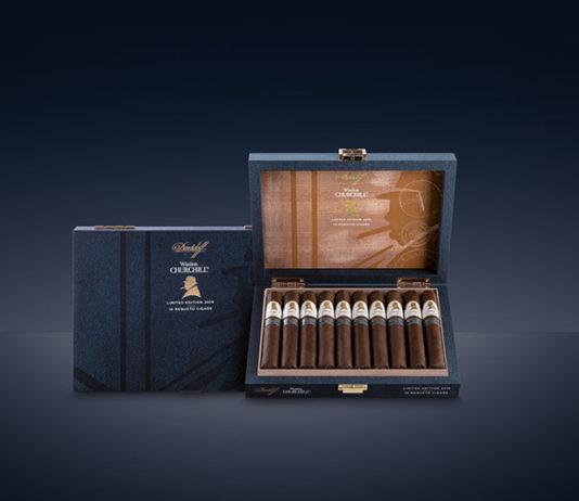 Winston Churchill The Traveler by Davidoff Cigars