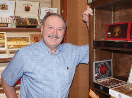 Jim Clark, Straus Tobacconist