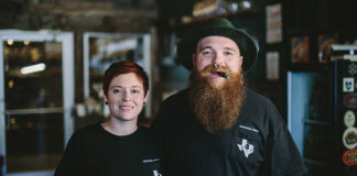 Ian and Rebecca Harvey, Smokers Abbey