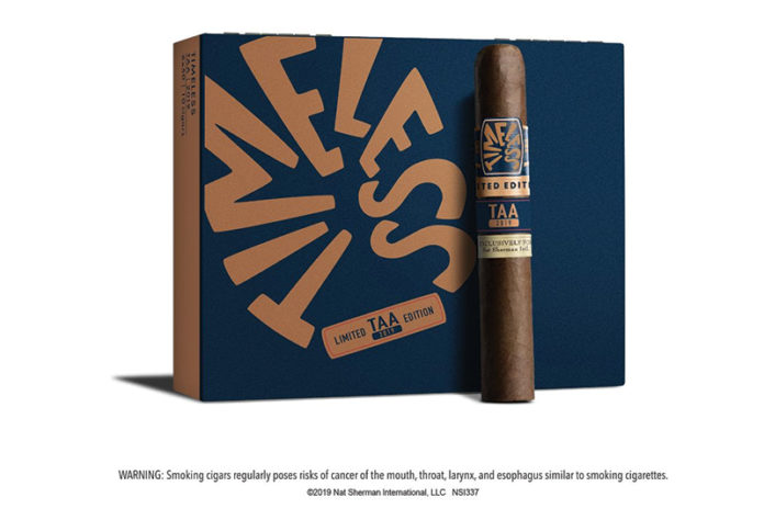 Nat Sherman Readies Timeless Limited Edition for TAA 2019