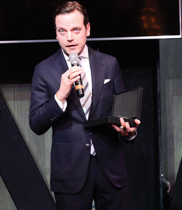 Tobacco Business Awards 2019 Michael Herklots