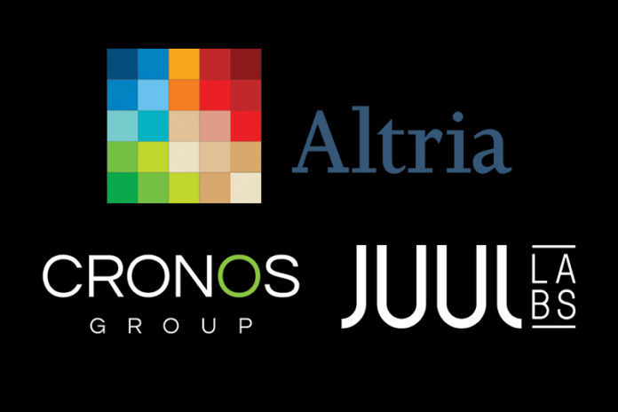 Altria Provides Updates on its Investment in JUUL and Cronos Group