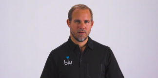 Richard Hill, CEO of blu