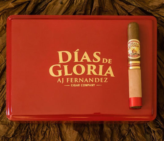AJ Fernandez Cigar Co. Releasing Días De Gloria at IPCPR 2019