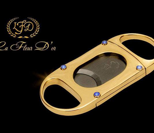 La Flor Dominicana Releases Gold La Fleur D'or Cigar Cutter