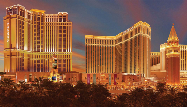 The Venetian and Palazzo, Las Vegas