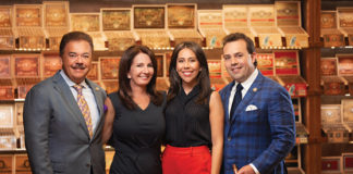 The Perdomo family: Nick Sr., Janine, Natalie and Nicholas III.