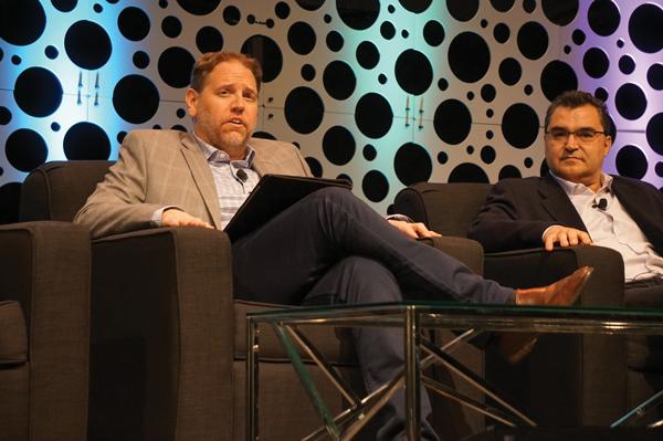 Brian Moyer and Jose Martinez of Criticality