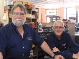 Matt Borders (left) has worked with Mike Fisher (right) at The Briar & The Burley for more than 30 years.