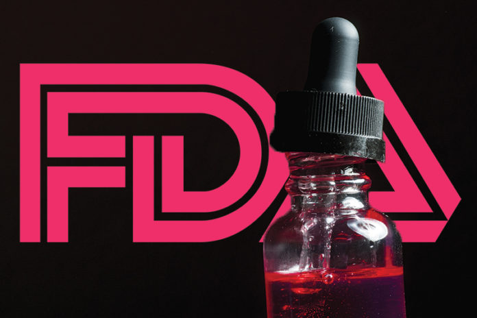 FDA Calls for Four Companies to Stop Selling 44 Flavored E-Liquid and Hookah Products
