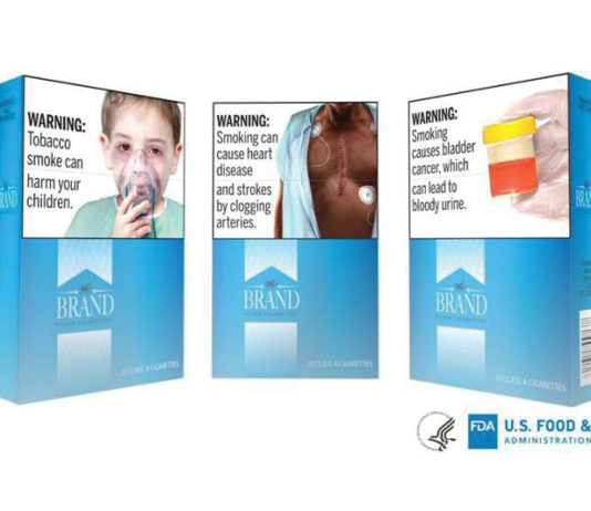 FDA Proposed New Visual and Text Warning Labels for Cigarette Packaging and Ads
