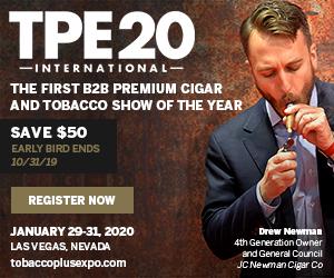 Tobacco Plus Expo 2020