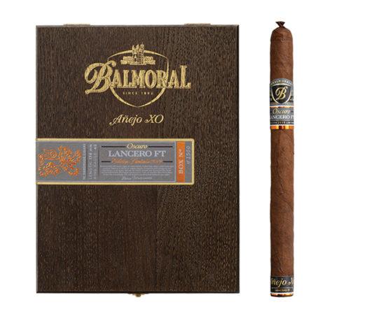 Royal Agio Cigars Announces Limited Edition Balmoral Añejo XO Oscuro Lancero FT