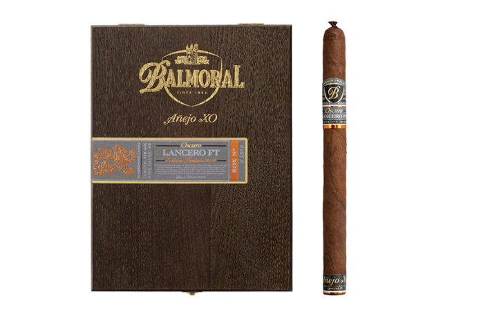 Royal Agio Cigars Announces Limited Edition Balmoral Añejo XO Oscuro Lancero FT