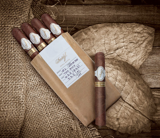 Davidoff presents its Small Batch releases