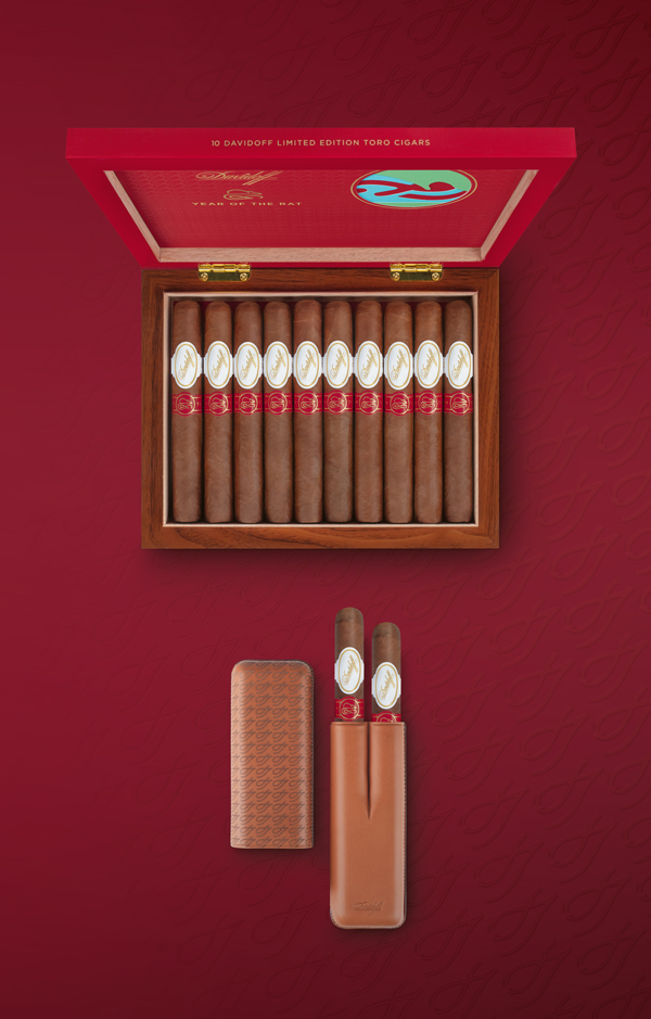 Davidoff Year of the Rat | Cigar and Cigar Case