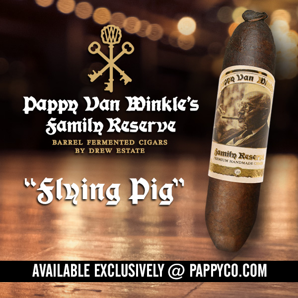 Drew Estate Pappy Van Winkle Barrel Fermented
