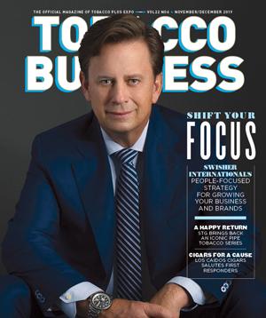 John Miller, President of Swisher International | Tobacco Business Magazine - November/December 2019
