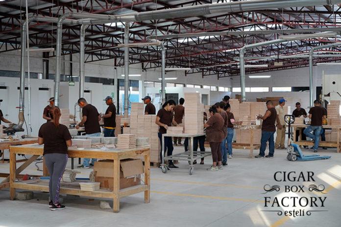 Cigar Box Factory Esteli Relocates to New Modern Facility