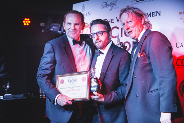 Daniel Marshall honored with Lifetime Achievement Award in London