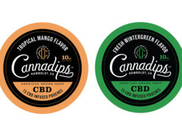 Cannadips CBD & Kretek International debut Wintergreen and Mango to Core CBD Micro-Dose Collection at TPE 2020