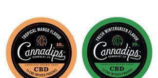 Cannadips CBD & Kretek International debut Wintergreen and Mango to Core CBD Micro-Dose Collection at TPE 2020