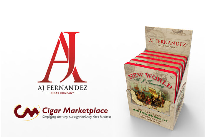 Cigar Marketplace to Debut Exclusive AJ Fernandez New World Tins at TPE 2020