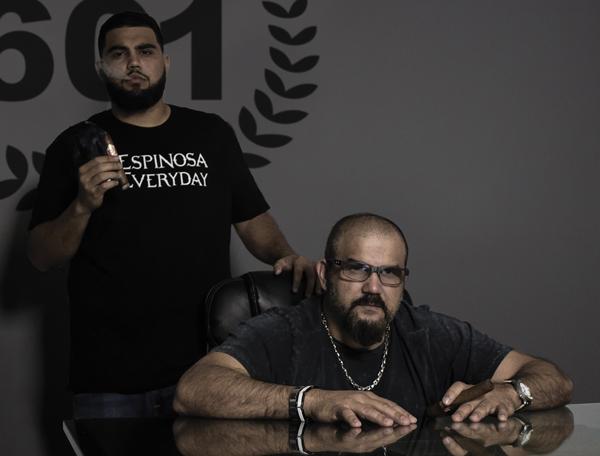 Erik Espinosa Sr. and Jr.   Espinosa Cigars