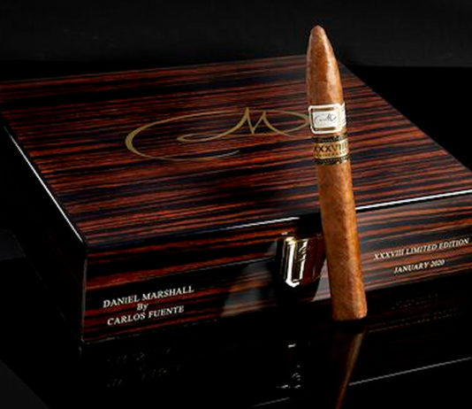 Daniel Marshall and Carlos Fuente Jr. Collaborate on special Daniel Marshall anniversary cigar