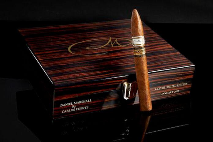 Daniel Marshall and Carlos Fuente Jr. Collaborate on special Daniel Marshall anniversary cigar