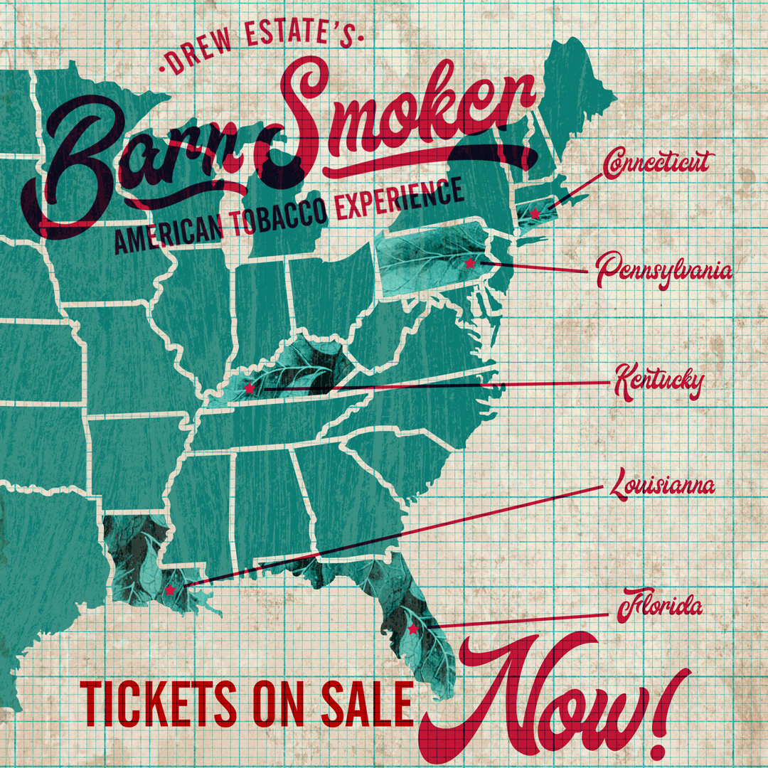 Drew Estate Announce Barn Smoker 2020 Dates and Ticket Packages
