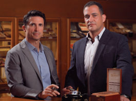Royal Agio Cigars U.S.A. | Jaime Florez-Estrada and George George Margioukla