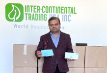 Inter-Continental Trading USA Donates 100,000 N90 masks to Chicago First Responders