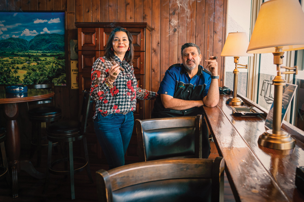 "Mari Mena is Neptune Cigars' director of retail, and George Perez is the manager of Neptune's South Miami Dadeland location. Neptune Cigars is an ""omni-channel"" retail business that offers customers both online and traditional options."